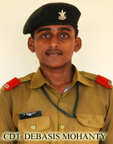 CDT. DEBASIS MOHANTY JOINED 100 INA