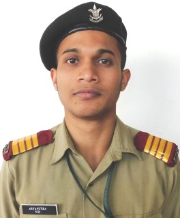 Congratulations!!!                               Cdt. Aryaputra P Das cleared SSB for 142 NDA