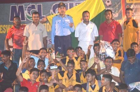 RUNNERS-UP KALINGA CUP FOOTBALL-2015